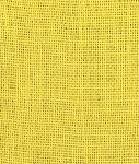Yellow Burlap Fabric