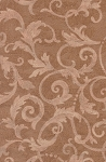 Stanley King Studio Light Brown Tan Scroll Cotton Print