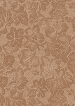 5th Avenue Designs Two Tone Brown Fall Cotton Print