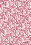 Cyrus Clark Co Livia Pink White Leaf Cotton print