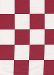 Waverly Check It Out Red White Checker Cotton Print