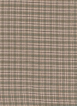 Beige Green Plaid Check Cotton Print