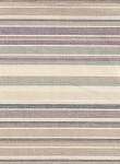 Faded Purple White Blue Stripe Cotton Print