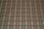5 yds Brown Beige Stripe Upholstery Fabric