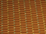 2.3 yds Uptown Cinnamon Upholstery Fabric Brown Blue Khaki