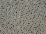 2.4 yds Roulette Gray Tan Upholstery Fabric