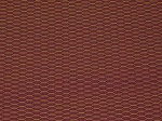 1.7 yards Alizarin Crimson Maroon Gold Upholstery Fabric