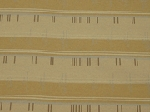 5.1 Bree Sand Gold Gray Stripe Upholstery Fabric
