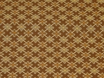 2.1 Yards Appian Godiva Brown Gold Star Pattern Upholstery Fabric