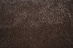 3.3 yds Montego Chocolate Brown Short Velvet Upholstery Fabric