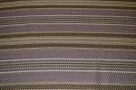 9.9 yds Herring Stripe Brown Beige Upholstery Fabric
