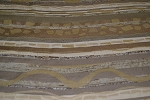 3.7 yds Blastoff Khaki Brown Tan Upholstery Fabric