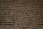 5.9 yds Brown Stripe Upholstery Fabric