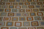 3.8 yds Opal Copper Coral Upholstery Fabric