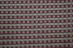 18.4 yards Bricks Red Tan Upholstery Fabric