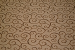 8.9 yards Landis Vintage Brown Upholstery Fabric