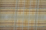 8 yards Tartan Tizzy Brown Tan Upholstery Fabric