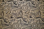 9 5/8 yards Smart Floral Sandstone Upholstery Fabric