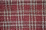 6.25 yards Derby Check Woodrose Upholstery Fabric