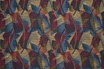 2.6 yards Falling Leaves Various Colors Upholstery Fabric