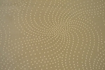 1.1 yards Swirly Dots Gold Upholstery Fabric