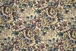 2.7 yards Grandma's Garden Various Colors Upholstery Fabric