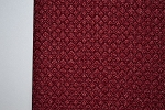 2.7 yards Usarus Red Upholstery Fabric