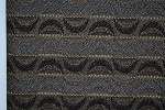 1.3 yards Occasion Night Black Brown Blue Upholstery Fabric