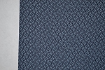 2.4 yards Link Dark Blue Upholstery Fabric