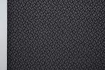 3.7 yards Link Grey and Black Upholstery Fabric