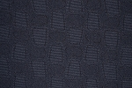 4.2 yards Ovals and Rectangles Dark Blue Upholstery Fabric
