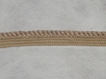 Barley 1/2 inch Bisque Wheat Color Braided Cord Trim