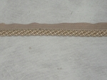 Fantasy 1/2 inch cord Trim Gold Tan Yellow