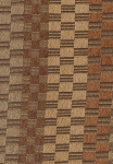 Binde Green Brown Tan Olive Check Upholstery Fabric