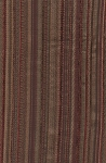 Evans Pomegranate Maroon Olive Green Stripe Upholstery Fabric