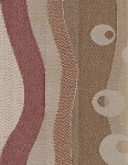 St George Terracotta Beige Upholstery Fabric