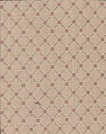 Walmer Cameo Cream Coral Diamond Upholstery Fabric