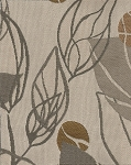 Tiffon Bramble Neutral Leaf Pattern Upholstery Fabric