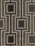 Burnham Nautical Black Beige Upholstery Fabric