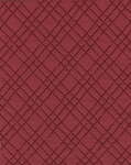 Alessio Crimson Red Diamond Upholstery Fabric