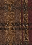 Halstead Brown Maroon Plaid Upholstery Fabric