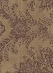 Gold Maroon Victorian Style Upholstery Fabric