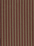 Red Gold Stripe Upholstery Fabric