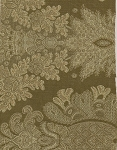 Green Gold Victorian Style Upholstery Fabric