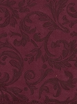 Carver Cabernet Two Tone Maroon Vine Design Microsuede