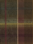 Maroon Green Gold Square Plaid Pattern Upholstery Fabric