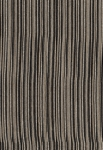 7.5 yards Black White Beige Stripe Upholstery Fabric