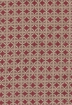 Cuttie Pie Coral Ivory Beige Upholstery Fabric