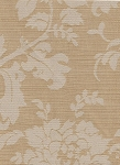 Satramanor Gold Ivory Floral Design Upholstery Fabric