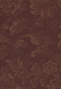 Maroon Beige Floral Upholstery Fabric